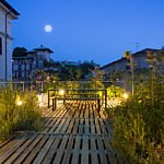 Piuarch, the rooftop garden is a versatile project
