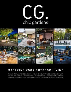 chic gardens Belgian magazine outdoor living garden architecture gardeners landscape architects fashion for gardens outdoor living chicgardens.be