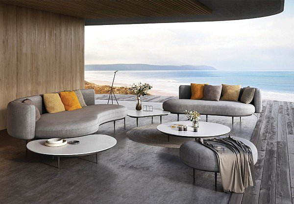 Organix Lounge new collection Royal Botania nature garden chic furniture outdoor design inspiration ideas luxury round organic shapes colours living Chic Gardens Magazine